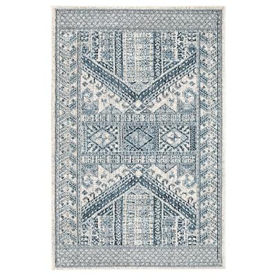 BORRIDSÖ Rug, low pile, multicolour, 160x235 cm