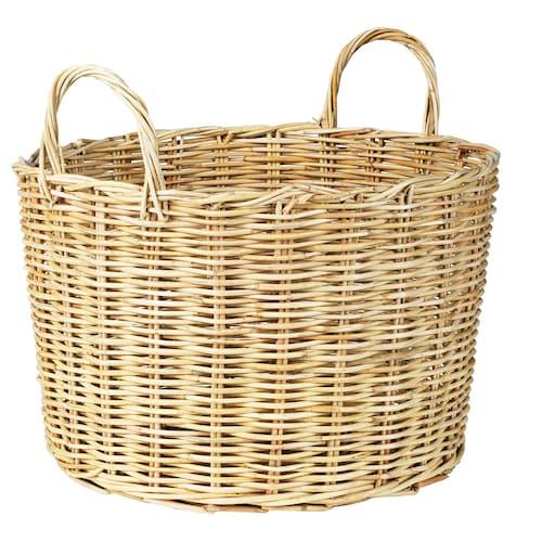 BORSTAD basket with handles 34 cm 47 cm