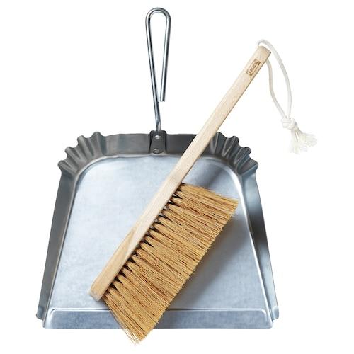 BORSTAD dust pan and brush