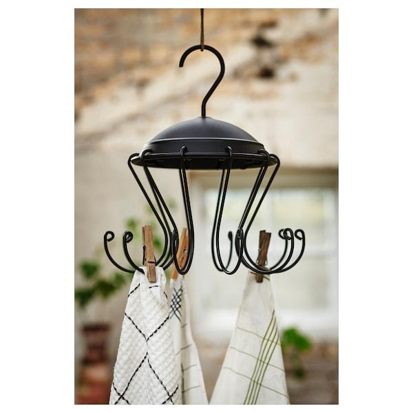 BORSTAD hanger with hooks 29 cm 19 cm