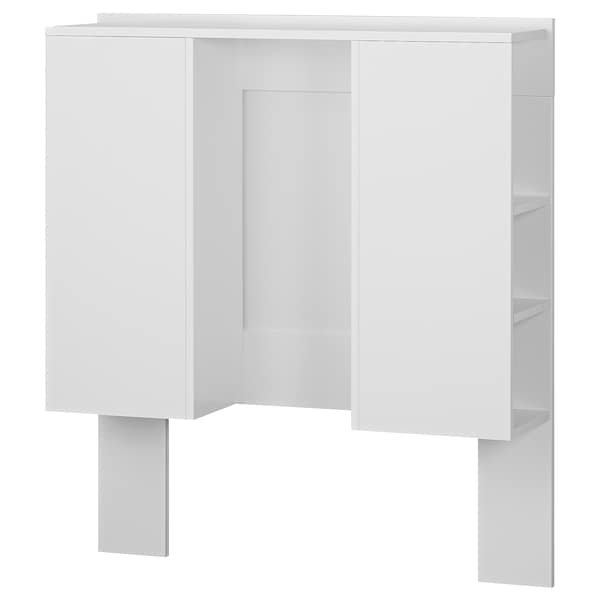 BRIMNES Headboard with storage compartment, white, 90 cm