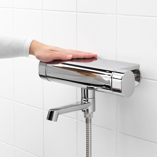 BROGRUND خلاط حمام حراري, طلاء كروم, 150 مم
