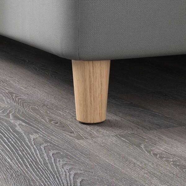 BRYNILEN Leg, oak, 10 cm