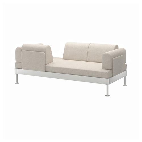 DELAKTIG 3-seat sofa Gunnared beige 79 cm 204 cm 84 cm 45 cm 20 cm 200 cm 80 cm 45 cm