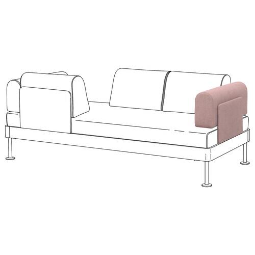 DELAKTIG armrest with cushion Gunnared light brown-pink 70 cm 16 cm 27 cm