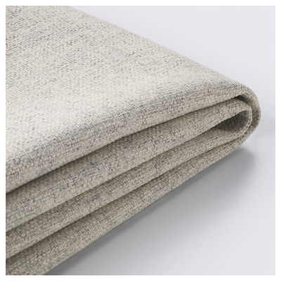 DELAKTIG Cover for seat cushion, armchair, Gunnared beige
