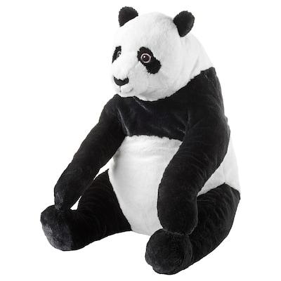 DJUNGELSKOG Soft toy, panda
