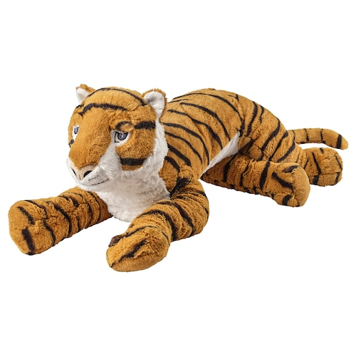 DJUNGELSKOG soft toy tiger 70 cm