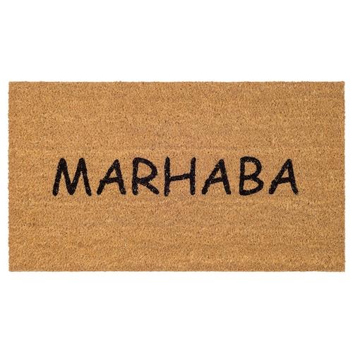 DONSLUND door mat natural 70 cm 40 cm 0.28 m²