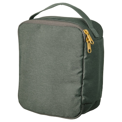 DRÖMSÄCK حقيبة تواليت, أخضر زيتوني, 4 ل