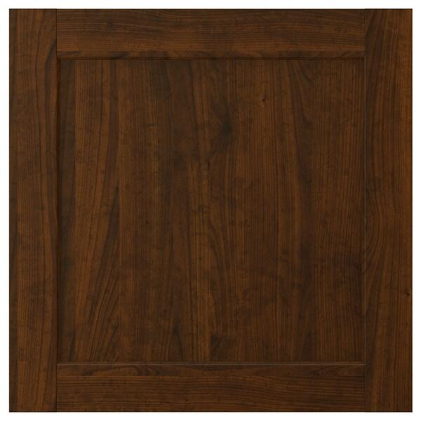 EDSERUM باب, مظهر الخشب بني, 60x60 سم