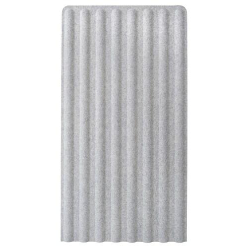 EILIF screen, freestanding grey 80 cm 150 cm