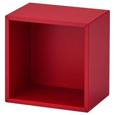 EKET Cabinet, red, 35x25x35 cm