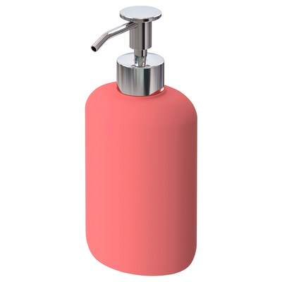 EKOLN Soap dispenser, light red