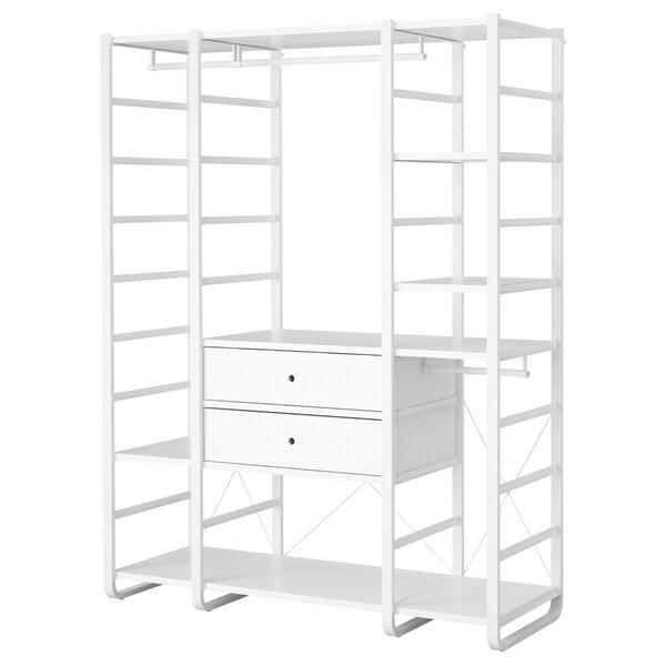 ELVARLI 3 sections white 165 cm 55 cm 216 cm