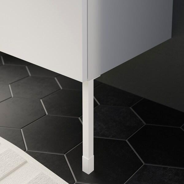 ENHET أرجل لخزانة, أبيض, 23.5 سم