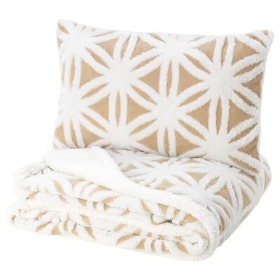 FJÄLLARV غطاء سرير وغطاء وسادة
