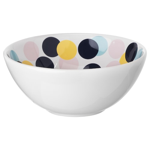 FRAMKALLA bowl patterned 16 cm
