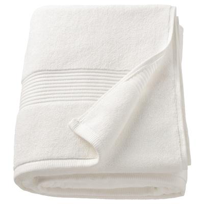 FREDRIKSJÖN Bath sheet, white, 100x150 cm