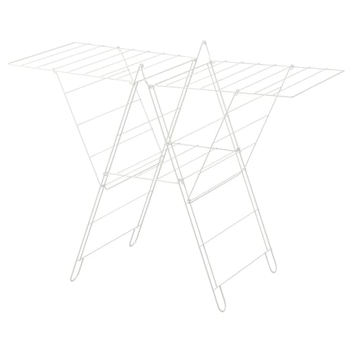 FROST drying rack, in/outdoor white 134 cm 59 cm 93 cm