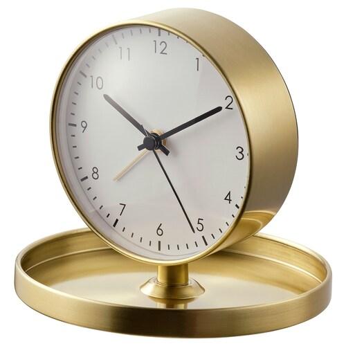 GÄNGA alarm clock brass-colour 12 cm 10 cm 13 cm 13 cm