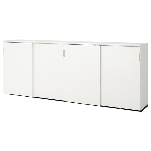 GALANT storage combination w sliding doors white 320 cm 45 cm 120 cm 30 kg