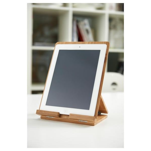 GRIMAR Holder for tablet, bamboo