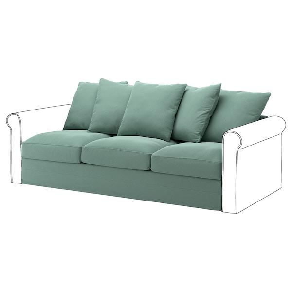 GRÖNLID غطاء قسم بـ 3 مقاعد, Ljungen أخضر فاتح