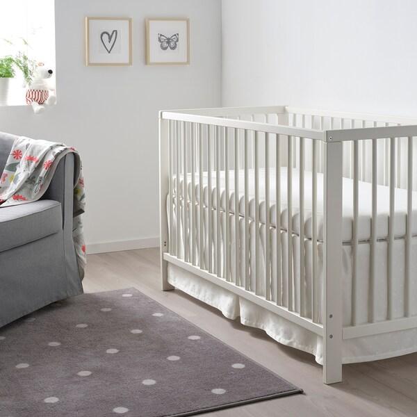 GULLIVER سرير طفل, أبيض, 60x120 سم