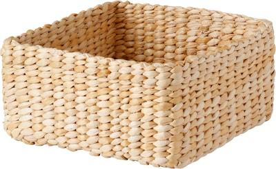 HIALÖS Box, handmade/banana fibre natural colour, 29x29x15 cm