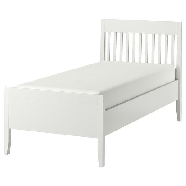 IDANÄS اطار سرير, أبيض/Lönset, 90x200 سم