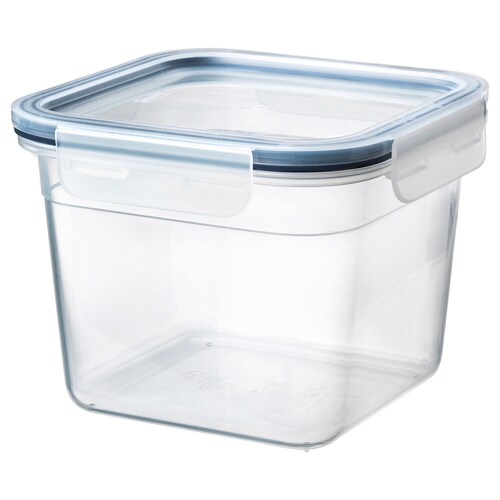 IKEA 365+ food container with lid square/plastic 15 cm 15 cm 12 cm 1.4 l