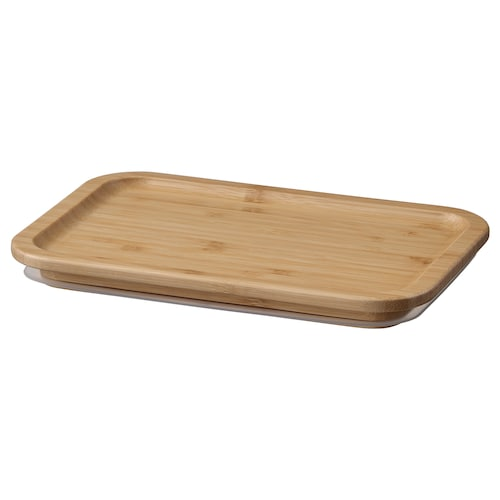 IKEA 365+ lid rectangular/bamboo 21 cm 15 cm