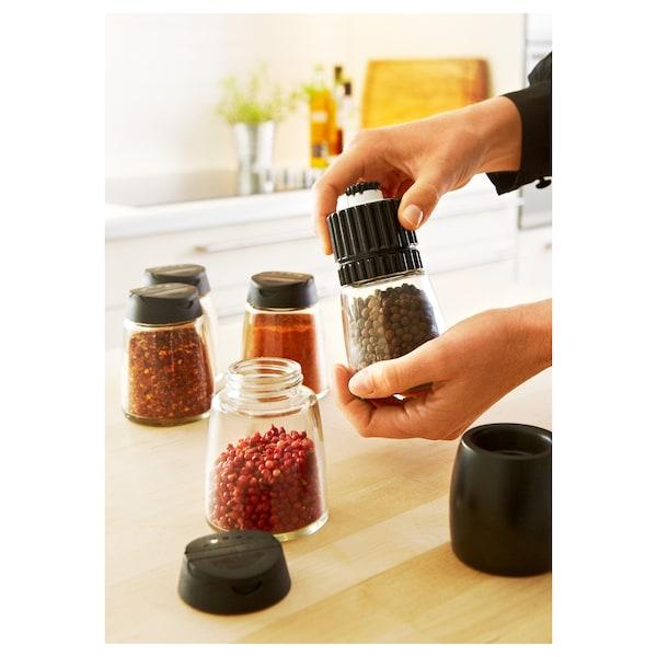 IKEA 365+ IHÄRDIG Spice mill, black, 12.5 cm