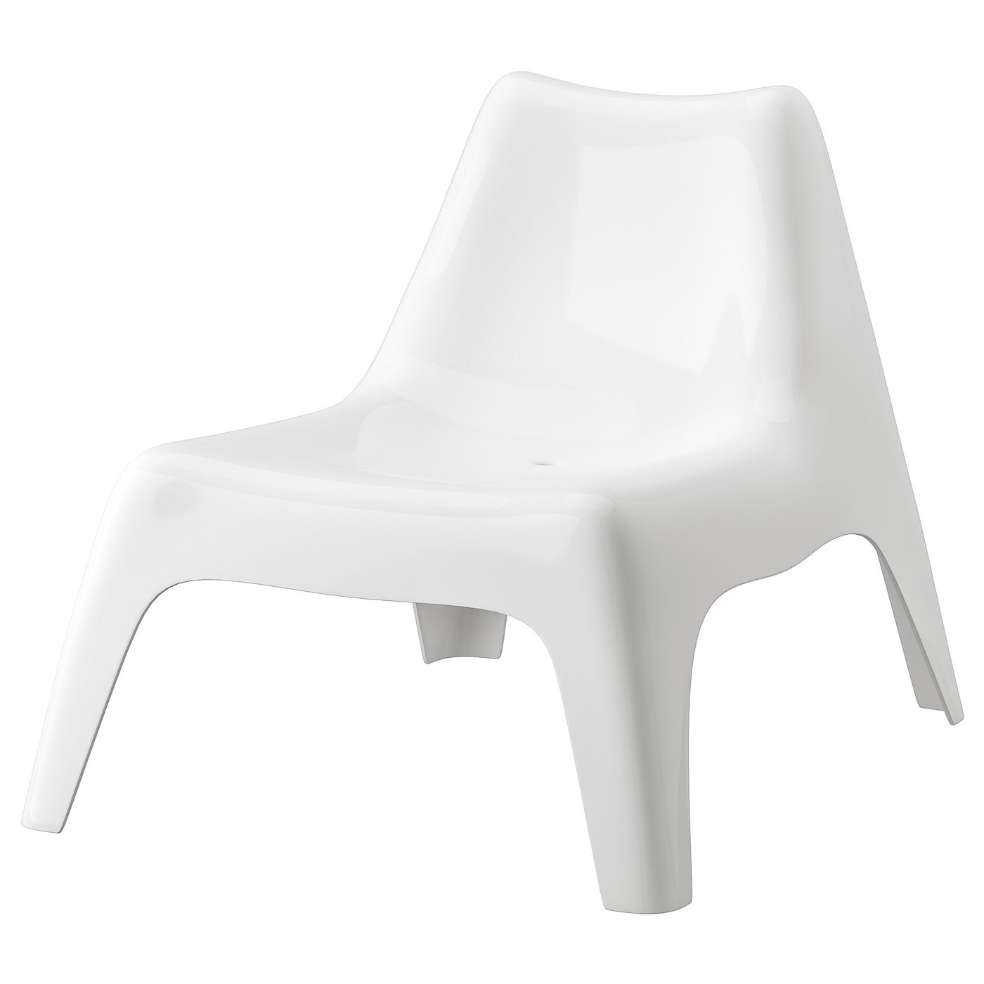 Ikea Ps Vago Easy Chair Outdoor White Ikea
