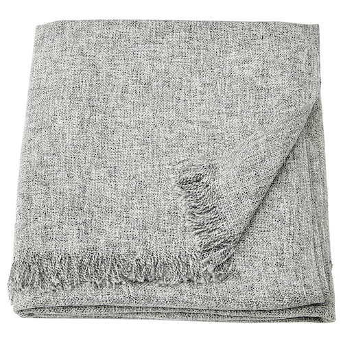 INGRUN throw grey 170 cm 130 cm