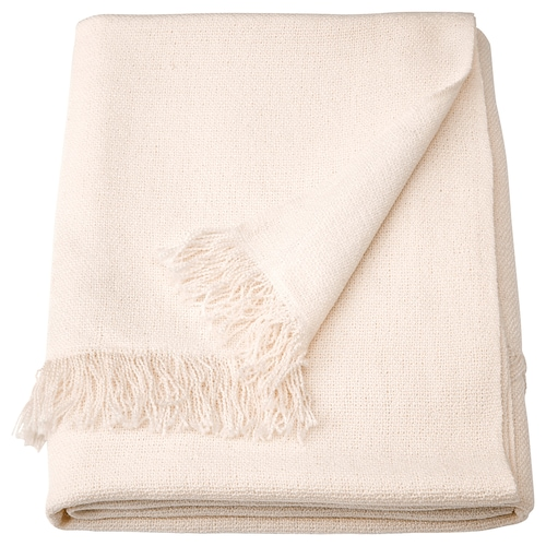 INGRUN throw white 170 cm 130 cm