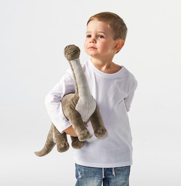 JÄTTELIK دمى طرية, ديناصور/ديناصور/برونتوصور, 55 سم