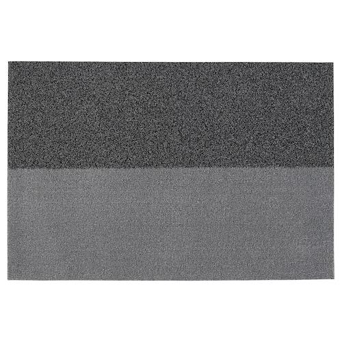 JERSIE door mat dark grey 90 cm 60 cm 6 mm 0.54 m² 1530 g/m² 321 g/m² 4 mm