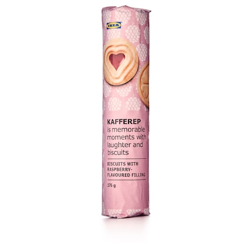 KAFFEREP biscuits with raspberry filling 176 g
