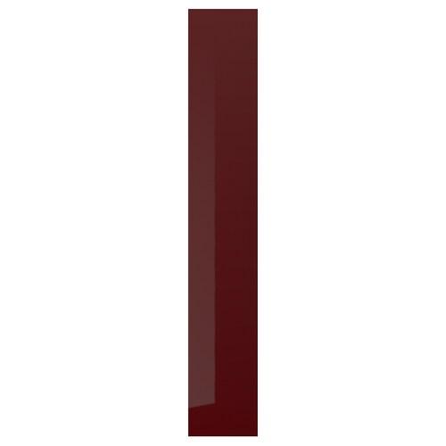 KALLARP cover panel high-gloss dark red-brown 39.0 cm 240 cm 39 cm 240.0 cm 1.3 cm