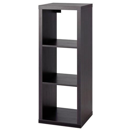 KALLAX shelving unit black-brown 42 cm 39 cm 112 cm