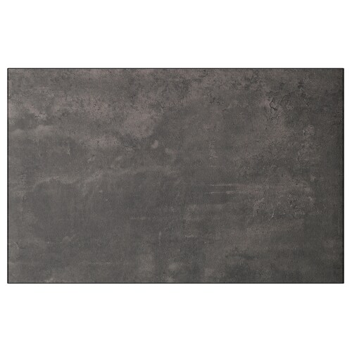 KALLVIKEN door/drawer front dark grey concrete effect 60 cm 38 cm