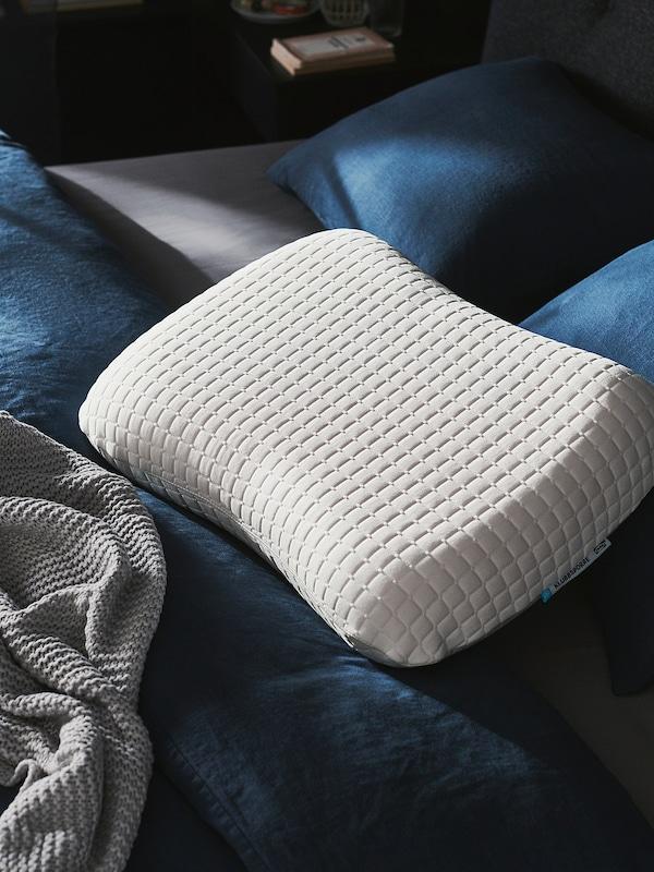 KLUBBSPORRE Ergonomic pillow, multi position, 44x56 cm