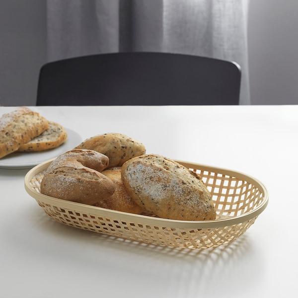 KLYFTA سلة خبز, خيزران, 36x22 سم