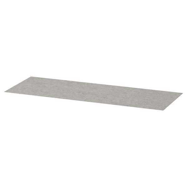 KOMPLEMENT Drawer mat, light grey, 90x30 cm