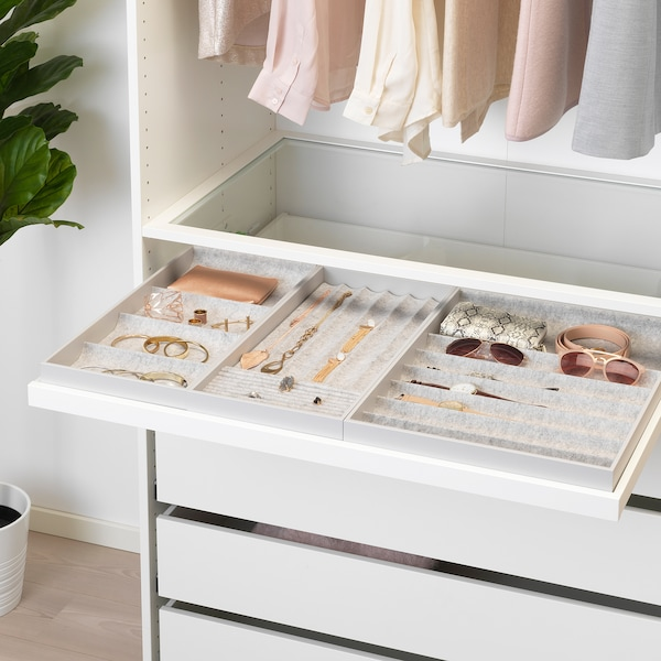 KOMPLEMENT Pull-out tray, white, 100x58 cm