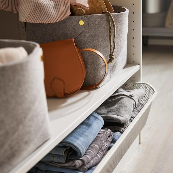 KOMPLEMENT Shelf, white, 100x35 cm