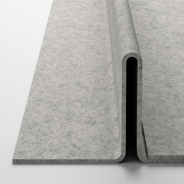 KOMPLEMENT Shoe insert for pull-out tray, light grey, 100x58 cm