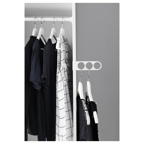 KOMPLEMENT Valet hanger, white, 17x5 cm
